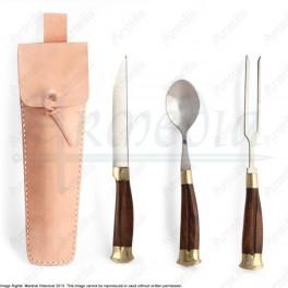 Ensemble de couteau cuillère et fourchette