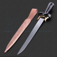 Dague à couillette de luxe manche en corne II