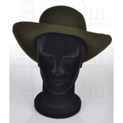 Chapeau de feutre rigide