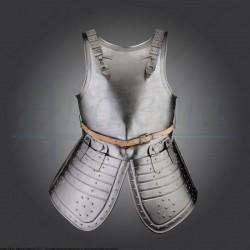 Armure devant et dos avec tassettes 17e siècle