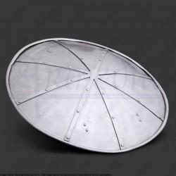 Boucliers cintré en acier diamètre 48cm