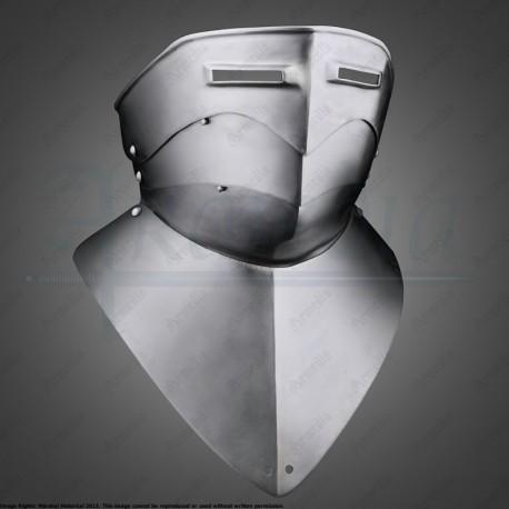 Gorgerin avec visière 1470-1500